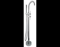 Смеситель напольный для ванны с душем Timo Saona 2300/00Y-CR хром