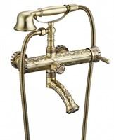 Смеситель для ванны и душа Zorg (арт. A 100W-BR)