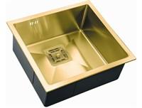 Мойка кухонная Zorg Inox Pvd 48х44х20 (арт. SZR-4844 BRONZE)