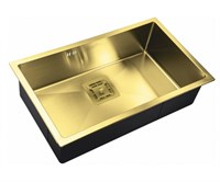 Мойка кухонная Zorg Inox Pvd 74х44х20 (арт. SZR-7444 BRONZE)