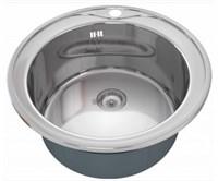 Мойка кухонная Zorg Inox RX 51х51х20,5 (арт. ZR-510/205)