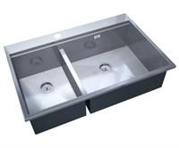 Мойка кухонная Zorg Master X FLASH 78х52х20 (арт. ZM X-5278-R)
