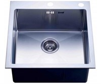 Мойка кухонная Zorg Inox RX 51х51х20 (арт. RX-5151)
