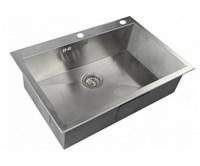 Мойка кухонная Zorg Inox RX 75х51х20 (арт. RX-7551)