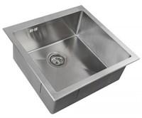 Мойка кухонная Zorg Inox RX 44х44х20 (арт. RX-4444)