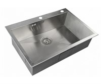 Мойка кухонная Zorg Inox X 75х51х20 (арт. X-7551)