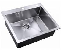 Мойка кухонная Zorg Inox X 59х51х20  (X-5951)