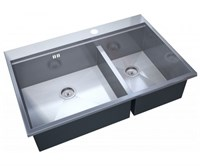 Мойка кухонная Zorg Master X ARTE 78х52х20 (арт. ZM X-5278-L)