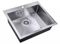 Мойка кухонная Zorg Hammer X FLORA 59х51х18  (SH X 5951)