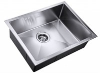Мойка кухонная Zorg Hammer X LEVOS 58х44х18  (SH X 5844)