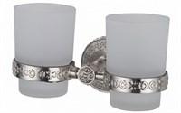 Держатель стакана  двойной Zorg Antic (AZR 04 SL)