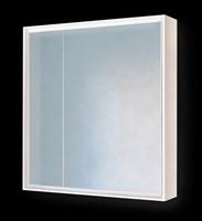 Зеркало-шкаф Frame 75 Белый с подсветкой, розеткой Fra.03.75/W (Fra.03.75/W)
