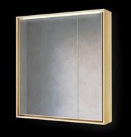 Зеркало-шкаф Frame 75 Дуб сонома с подсветкой, розеткой Fra.03.75/DS (Fra.03.75/DS)