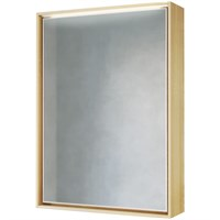 Зеркальный шкаф Raval Frame 60 с подсветкой Fra.03.60/W