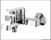 Смеситель для ванны RUSH Balearic BA3935-44 с душем короткий излив хром