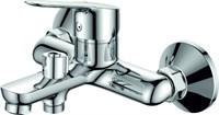 Смеситель для ванны RUSH Crete CR3535-44 с душем короткий излив хром