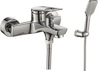 Смеситель для ванны RUSH Socotra ST1235-44 с душем короткий излив хром (ST1235-44)