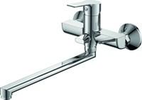 Смеситель для ванны RUSH Victoria VI7135-16 с душем длинный излив хром
