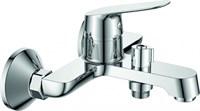 Смеситель для ванны RUSH Yell YE5735-44 с душем короткий излив хром (YE5735-44)