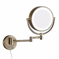 12201BR Зеркало косметическое электрическое с подсветкой Bronze de Luxe