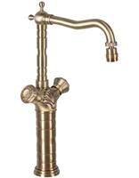 21973K Смеситель кухонный с поворотным аэратором Bronze de Luxe (21973K)