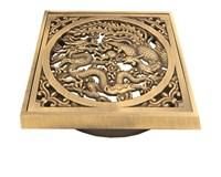 """21986 Решетка """"Дракон"""" для трапа Bronze de Luxe"""