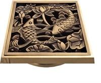 "21980 Решетка ""Рыбы"" для трапа Bronze de Luxe"