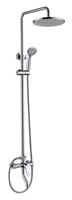 Душевая колонна Bravat Eler со смесителем для ванны  (F6191238CP-A-RUS)