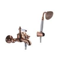 Смеситель для ванны короткий излив BRAVAT Art F675109U-B1-RUS