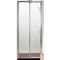 Душевая дверь BRAVAT Drop в нишу одна складная дверь 1000x2000 (BD100,4120A)