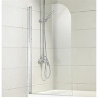 Душевая шторка BRAVAT Alfa на ванну 700х1500 одна распашная дверь (BG070,5110A)