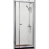 Душевая дверь BRAVAT Drop в нишу одна распашная дверь 1000x2000 (BD100,4110A)