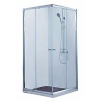 Душевой уголок BRAVAT Drop без поддона две раздвижные двери 900x900x2000 (BS090,2200A)