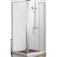 Душевой уголок BRAVAT Line без поддона с одной распашной дверью 900x900x2000  (BS090.2113A)
