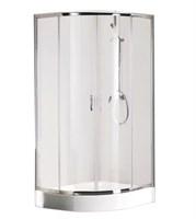 Душевой уголок BRAVAT Drop без поддона две раздвижные двери 1000x1000x2000 (BS100,1200A)