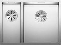 Кухонная мойка Blanco CLARON 340/180-IF  (чаша справа) нерж.сталь зеркальная полировка с отв. арм. InFino (521608)