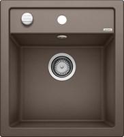 Кухонная мойка Blanco DALAGO 45 SILGRANIT PuraDur кофе с клапаном-автоматом (517165)