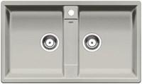 Кухонная мойка Blanco ZIA 9 SILGRANIT PuraDur жемчужный (520640)