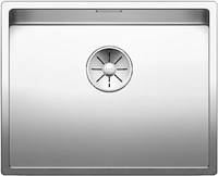 Кухонная мойка Blanco CLARON 500-U нерж.сталь зеркальная полировка с отв. арм. InFino (521577)