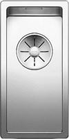 Кухонная мойка Blanco CLARON 180-IF нерж.сталь зеркальная полировка с отв. арм. InFino (521564)