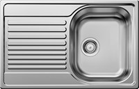 "Кухонная мойка Blanco TIPO 45 S Compact нерж. сталь ""декор""  (513675)"
