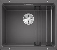 Кухонная мойка Blanco ETAGON 500-U SILGRANIT PuraDur темная скала (522228)