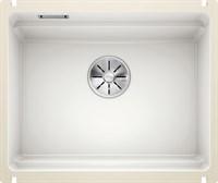 Кухонная мойка Blanco ETAGON 500-U керамика PuraPlus глянцевый белый (525149)