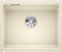 Кухонная мойка Blanco ETAGON 500-U керамика PuraPlus глянцевый магнолия (525150)