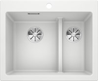 Кухонная мойка Blanco PLEON 6 Split SILGRANIT PuraDur белый (521693)