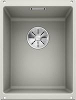 Кухонная мойка Blanco SUBLINE 320-U SILGRANIT PuraDur жемчужный с отв.арм. InFino (523409)