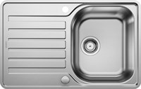 Кухонная мойка Blanco LANTOS 45 S-IF Compact нерж. сталь, с клапаном-автоматом (519059)