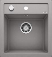 Кухонная мойка Blanco DALAGO 45 SILGRANIT PuraDur алюметаллик с клапаном-автоматом (517157)