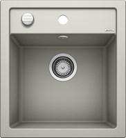 Кухонная мойка Blanco DALAGO 45 SILGRANIT PuraDur жемчужный с клапаном-автоматом (520543)