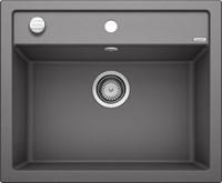 Кухонная мойка Blanco DALAGO 6 SILGRANIT PuraDur темная скала с клапаном-автоматом (518850)